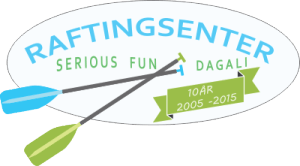 Raftingsenteret Serious Fun logo