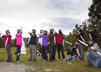 archery-tag-dagali-fjellpark-sommer-4